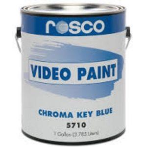 Rosco Chroma Key Blue 5710 Paint - 3.79 Litre can