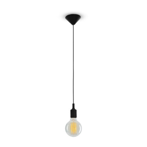 LIGHT PENDANT 240V - Black