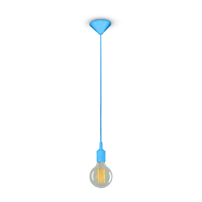LIGHT PENDANT 240V - BLUE