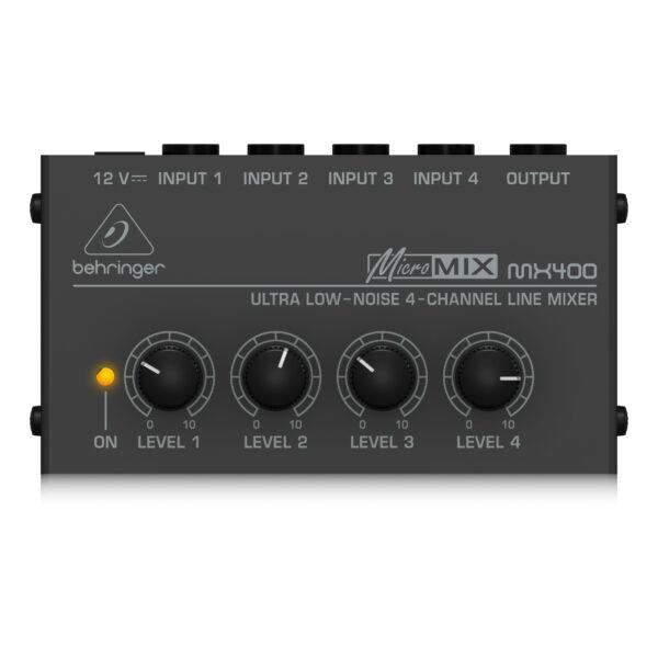 MX400 : Ultra Low-Noise 4-Channel Line Mixer