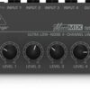 Behringer MX400 4 Channel Line Mixer