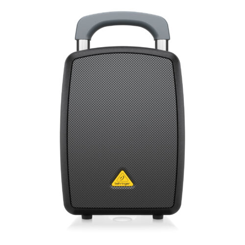 MPA40BT-PRO: All-in-One Portable 40-Watt PA System with Bluetooth Connectivity, Battery Operation and Transport Handle