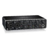 UMC204HD : Audiophile 2x4, 24-Bit/192 kHz USB Audio/MIDI Interface with Midas Mic Preamplifiers