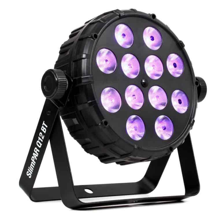 Chauvet DJ Slimpar Q12 BT Quad LED par can with Bluetooth