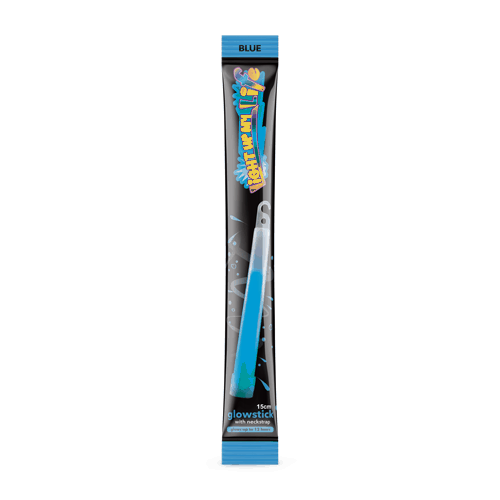 Blue Glowstick 150mm x 15mm