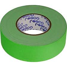 Rosco Chroma Key Tape Green
