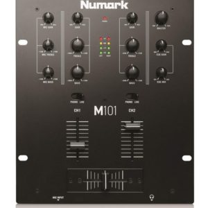 NUMARK M101 DJ MIXER 2 CHANNEL