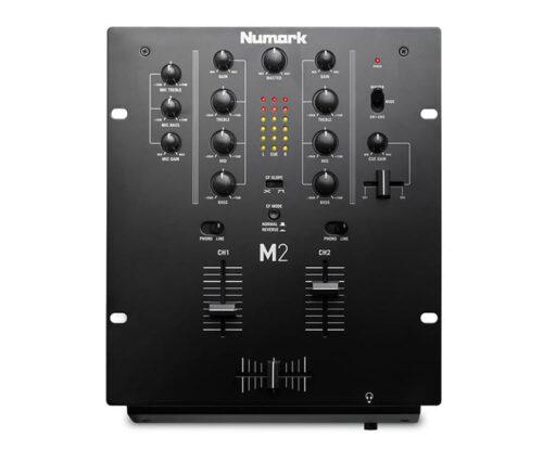 NUMARK M2 DJ MIXER 2 CHANNEL