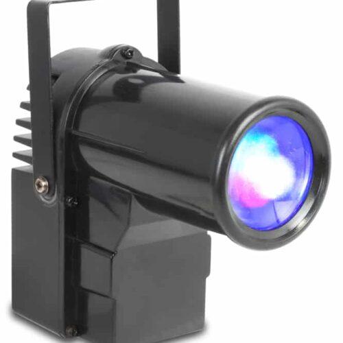 Beamz PS10W LED RGBW Pinspot 10W with DMX