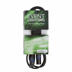 Event Lighting DMX Lead XLR3m3f1.5