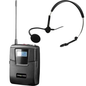 Parallel Audio Wireless Body Pack with Headworn Microphone