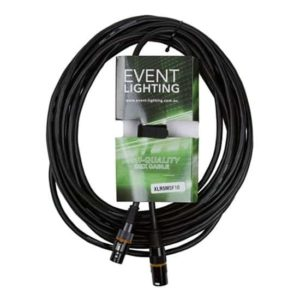 Event Lighting XLR5M5F10 5 pin XLR DMX lead 10 metres
