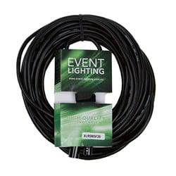 Event Lighting XLR5M5F20 5 pin XLR DMX cable 20 metres