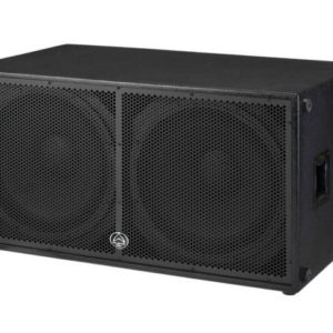 """Wharfedale DELTA218B Double 18"""" Passive 1600W RMS Subwoofer. 2 high output, low distortion 18"""" cast frame woofers with 3"""" voice coils"""