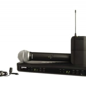 Shure BLX1288CVL Wireless Dual Combo Microphone System Lapel/Handheld