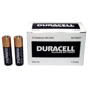 Duracell AA Batteries Bulk Pack – 24 Pieces
