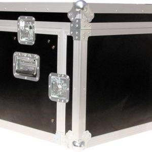 Procases ACMA6U 10RU Mixer with 6RU Amp Rack Case