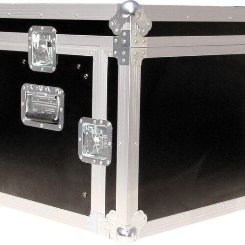 Procases ACMA6U 10RU Mixer with 6RU Amp Rack Case