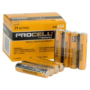 Duracell PC2400 Procell AAA Batteries Bulk Pack – 24 Pieces