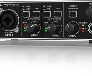 Behringer UMC202HD U-Phoria 2×2 Audio Interface