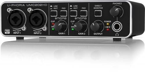Behringer UMC202HD U-Phoria 2×2 Audio Interface