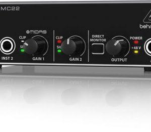 Behringer U-Phoria UMC22 – USB Audio Interface
