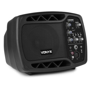Vonyx V205B Personal Monitor System BT USB for Mic Guitar