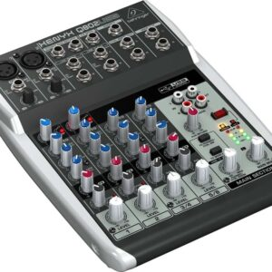 Behringer Xenyx Q802USB PA Mixer 8 Channel