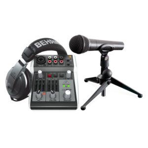Behringer PODCASTUDIO 2 USB Recording Package
