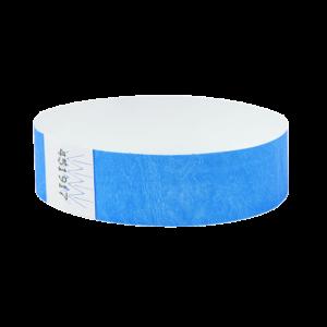 BLUE Tyvek Security Wristbands