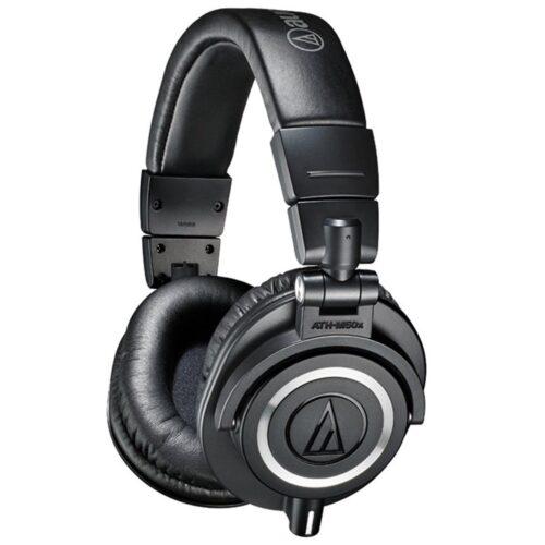 Audio Technica ATH M50x Studio Headphones (Black)