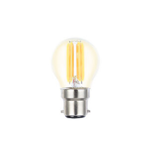 Filament Fancy Round LED dimmable full glass lamps