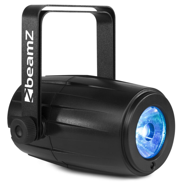 Beamz PS12W mk2 RGBW LED Pinspot 12W with IRC