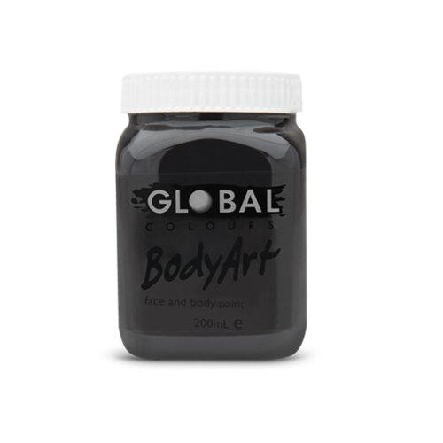 Global Colours 200ml - Black