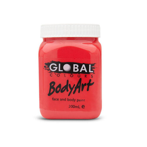 Global Colours 200ml - Brilliant Red