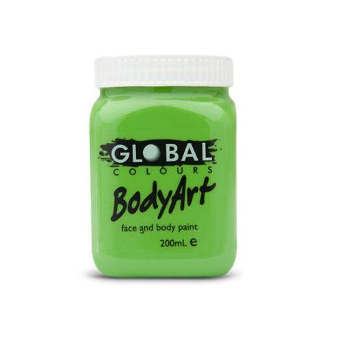 Global Colours 200ml - Lime Green