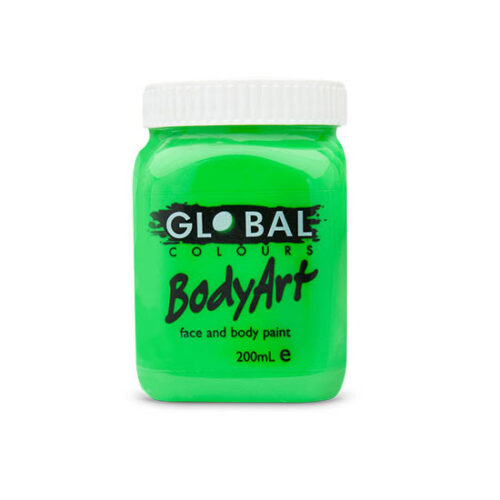 Global Colours 200ml - Neon Green