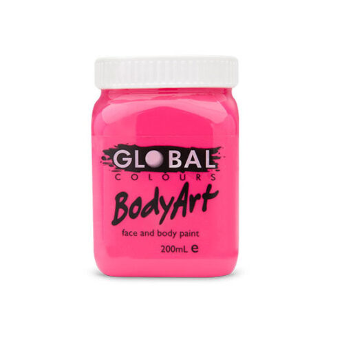 Global Colours 200ml - Neon Pink