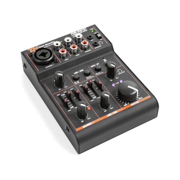 DM-D301BT 3-CHANNEL USB MIXER