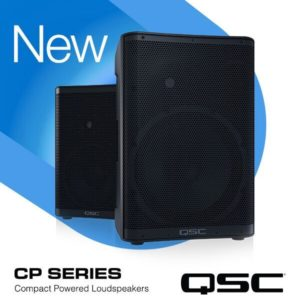 QSC CP POWERED SPEAKERS