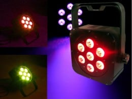 LIGHT EMOTION LED PAR CANS