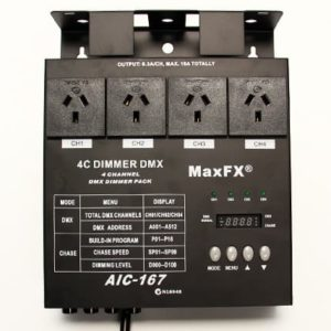 SINGLE PHASE DMX DIMMERS