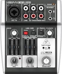 Behringer Xenyx 302USB 5 Input Mixer
