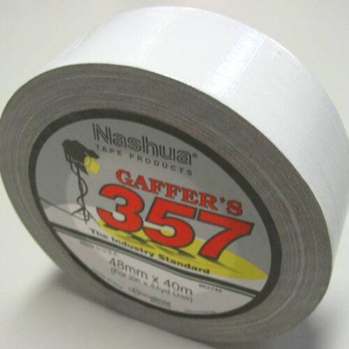 NASHUA 357 50mm x 40m GAFFER TAPE - WHITE