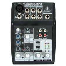 Behringer Xenyx 502 5 Input 2 bus Mixer