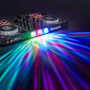 NUMARK PARTYMIX 2 Channel DJ Controller with Lights!