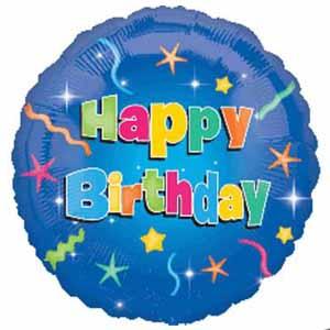 Anagram 436cm Foil Happy Birthday Helium Balloon
