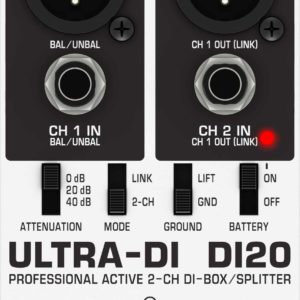 Behringer DI20 DI Box