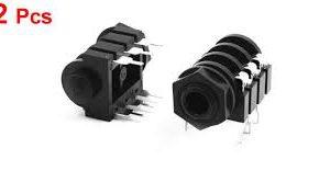 Soundking FJPCS2 TRS-F 6.35mm Jack Panel Mount Socket
