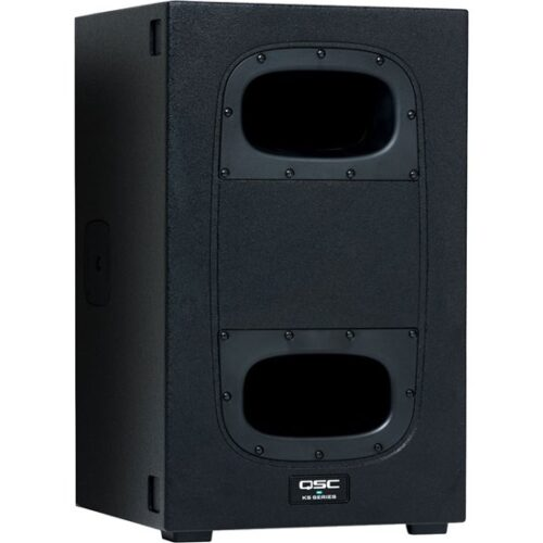 """QSC KS112 1 x 12"""" 2000w Powered Compact PA Subwoofer"""